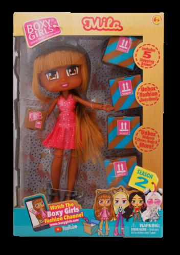Boxy Girls Season 2 Mila Doll Perspective: front