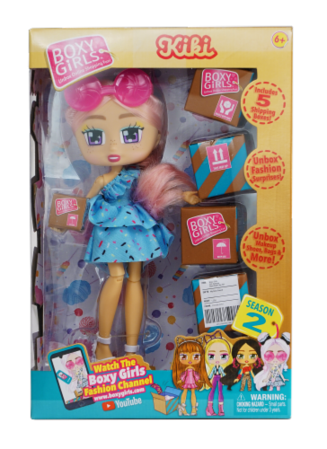 Boxy Girls Season 2 Kiki Doll Perspective: front