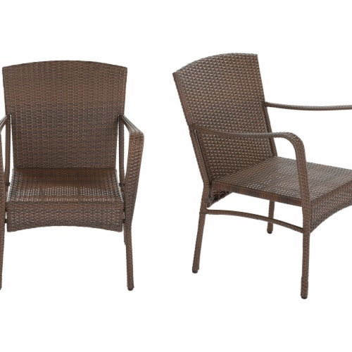 W Unlimited SW1616SET2 Leisure Collection Outdoor Garden Patio Furniture Chair Set - 2 Piece Perspective: front
