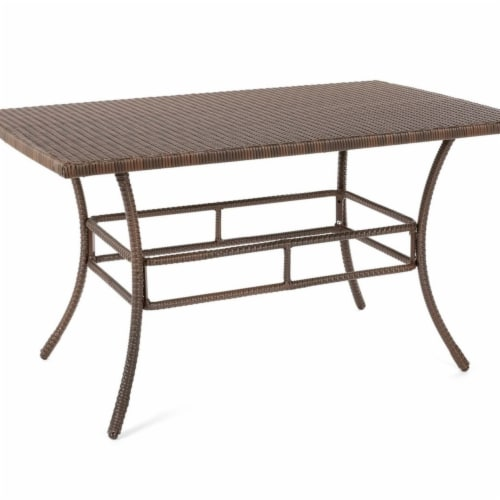 W Unlimited SW1616-DT Outdoor Garden Leisure Collection Patio Furniture Dining Table Perspective: front