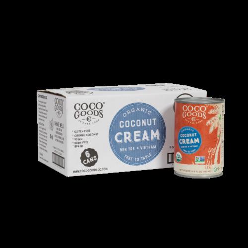 Organic Coconut Cream 13.5 fl. oz Perspective: front