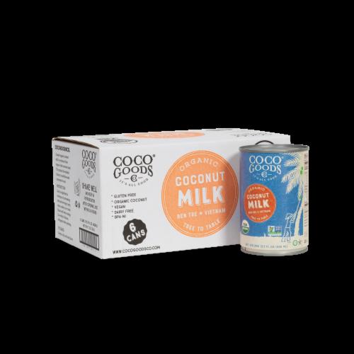 Organic Coconut Milk 13.5 fl. oz Perspective: front