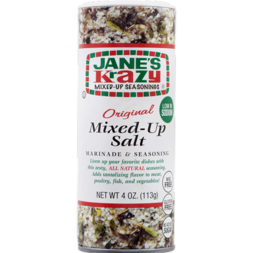 Jane's Krazy Mixed-Up Seasonings Original Mixed-Up Salt Perspective: front