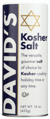 David's Kosher Salt Perspective: front