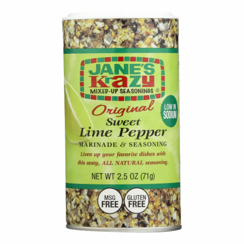 Jane's Marnde - Sweet Lime Pepper - 2.5 oz - Pack of 3 Perspective: front