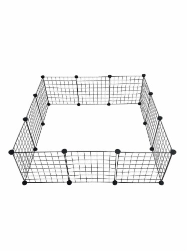 Midlee Guinea Pig Grid Cage Panels- Set of 12 Perspective: front