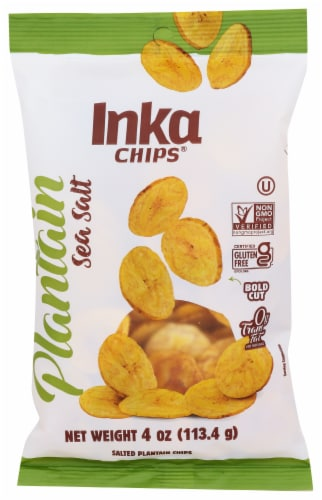 Inka Roasted Plantain Chips Perspective: front
