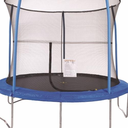 JumpKing JK1055 10 ft. Trampoline & Enclosure Perspective: front