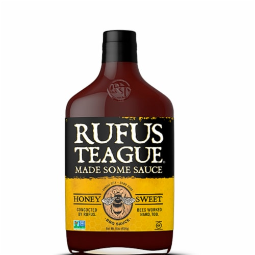 Rufus Teague Honey Sweet BBQ Sauce Perspective: front