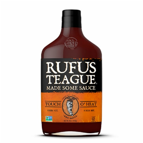 Rufus Teague Touch O' Heat BBQ Sauce Perspective: front