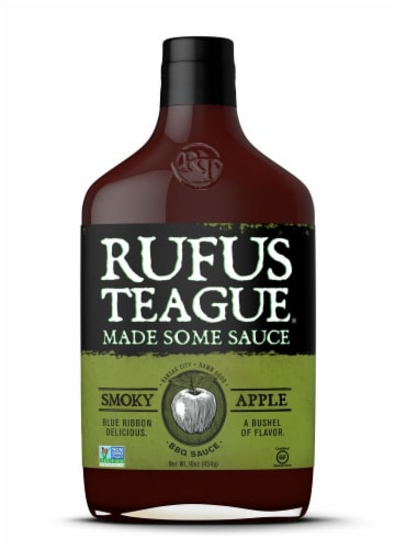 Rufus Teague Apple Mash BBQ Sauce Perspective: front