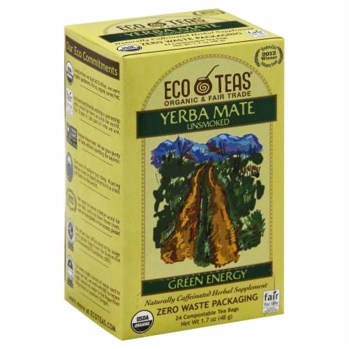 Eco Teas Yerba Mate Green Energy Tea Perspective: front