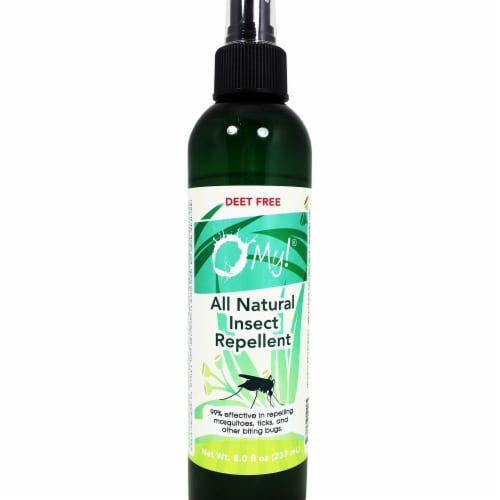 O My 708220 8 oz All Natural Insect Repellant Perspective: front