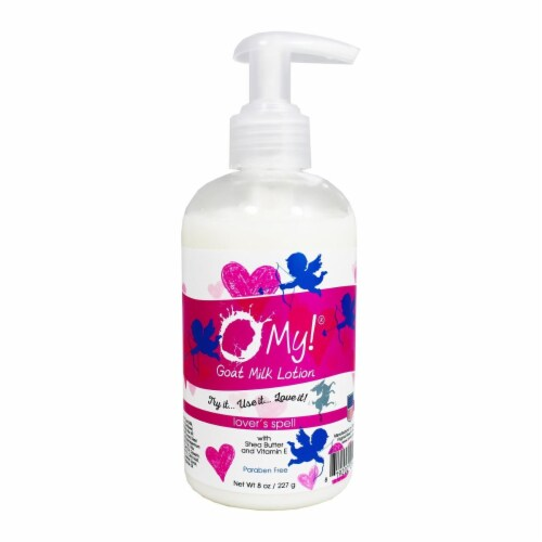 O My 708493 8 oz Lovers Spell Lotion Perspective: front