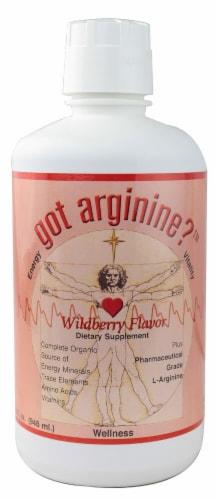 Morningstar Minerals  Got Arginine™   Wildberry Perspective: front