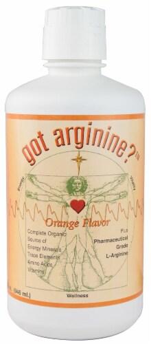 Morningstar Minerals  Got Arginine™   Orange Perspective: front