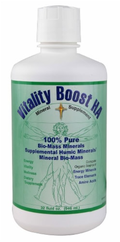 Morningstar Minerals  Vitality Boost HA Perspective: front