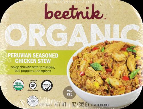 Beetnik Organic Peruvian Seasoned chicken Stew Perspective: front
