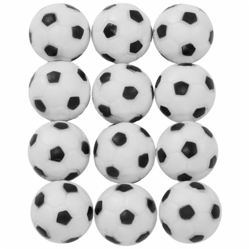 Sunnydaze Foosball Soccer Table Replacement Balls - 36mm Standard Size - 12 Pack Perspective: front