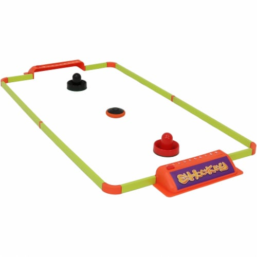 """Sunnydaze Portable Hover Tabletop Air Hockey Game Set with USB Charger - 40"""" Perspective: front"""