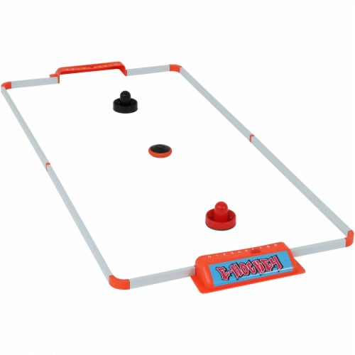 Sunnydaze Portable Hover Tabletop Air Hockey Game Set - 52-Inch Perspective: front