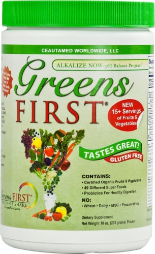 Greens First  Superfood Perspective: front