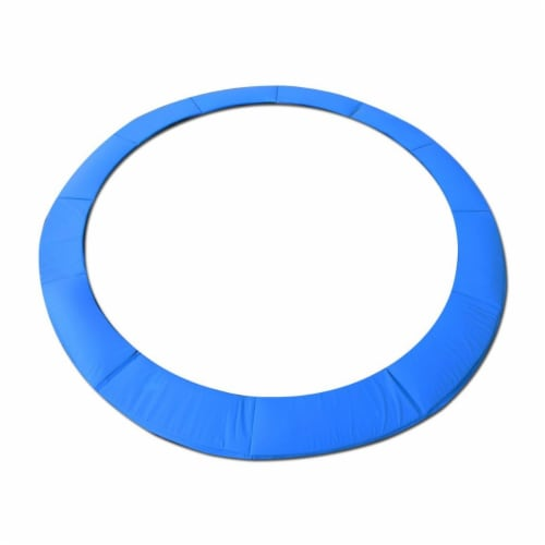 SkyBound P1-1512BBL 15 ft. & 8 in. Trampoline Pad - Standard, Blue Perspective: front