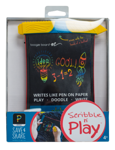 Kent Displays Boogie Board Scribble and Play Kids Ewriter Perspective: front