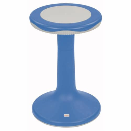 """Kaplan Early Learning 20"""" K'Motion Stool - Primary Blue Perspective: front"""