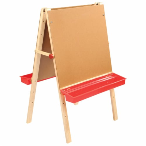 Kaplan Early Learning Toddler Adjustable Easel Perspective: front