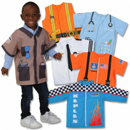Kaplan Early Learning When I Grow Up Career Preschool Shirts - Set of 6 Perspective: front