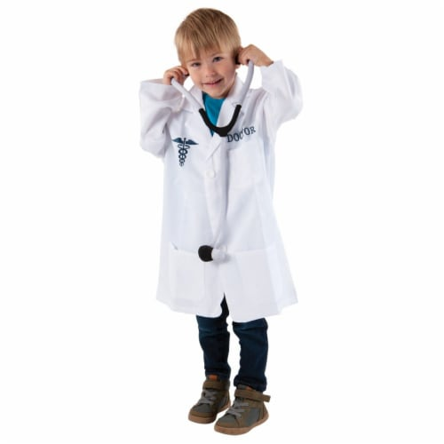 Kaplan Early Learning Doctor Career Dramatic Play Dress Up Costume Perspective: front