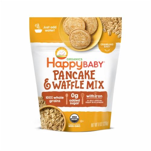 Happy Baby Organics Pancake & Waffle Mix Perspective: front