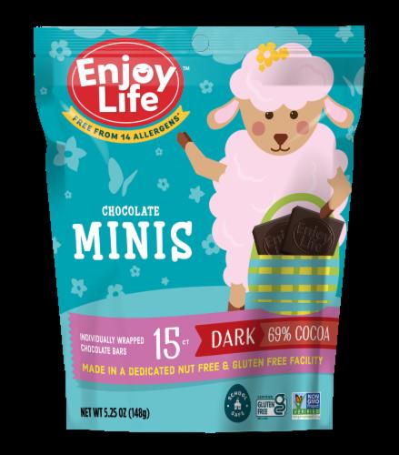Enjoy Life Gluten-Free Dark Chocolate Minis Perspective: front