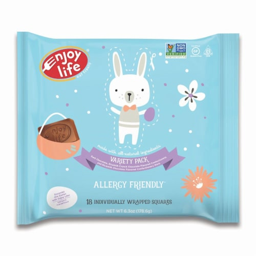 Enjoy Life Mini Easter Chocolates Variety Pack Perspective: front