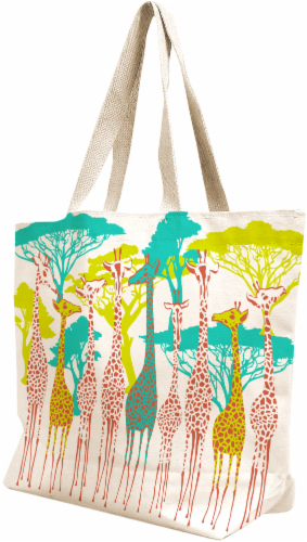 Earthwise Canvas Bag - Natural Perspective: front