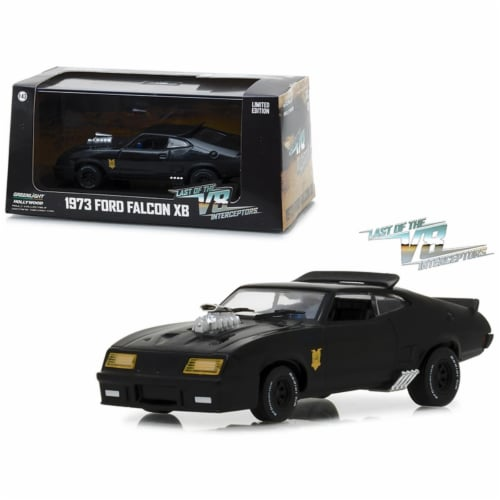 Greenlight 86522 1 isto 43 1973 Ford Falcon XB Last of the V8 Interceptors Movie Diecast Mode Perspective: front