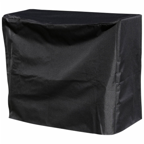 Sunnydaze Log Rack Cover Heavy-Duty Waterproof Weather-Resistant PVC - 2' Perspective: front