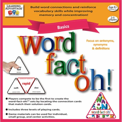 Learning Advantage CTU2190 Word Fact Oh Basic Game Perspective: front