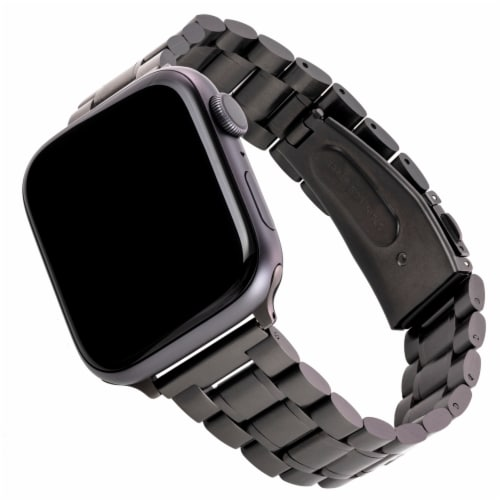 WITHit Apple Watch Multi Link Band - Black Perspective: front