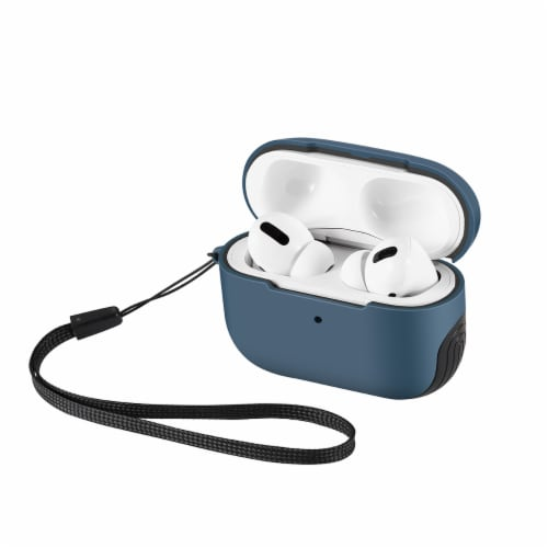 WITHit Airpod Pro Sport Case - Bluestone/Black Perspective: front