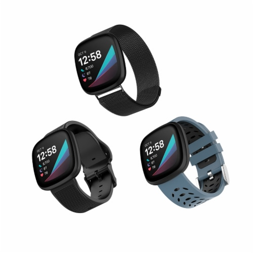 WITHit Fitbit Versa 3/Sense Bands - Assorted Perspective: front