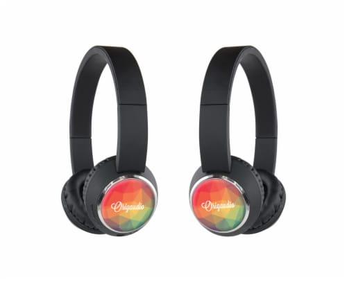 Origaudio BeeBop Headphones - Rainbow Perspective: front