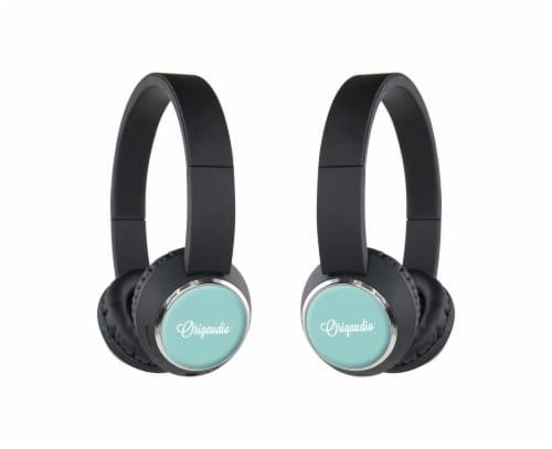 Origaudio BeeBop Headphones - Turquoise Perspective: front