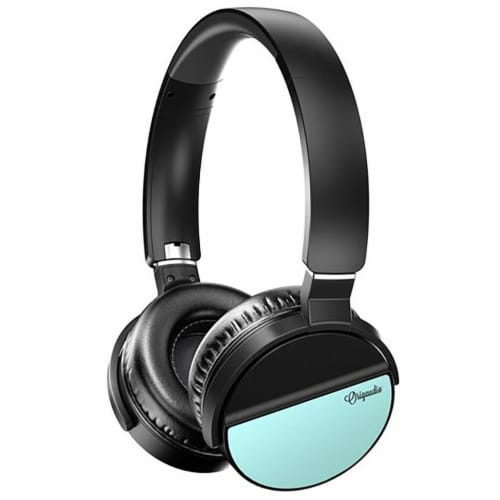 Origaudio Lunatunes Wireless Headphones - Turquoise Perspective: front