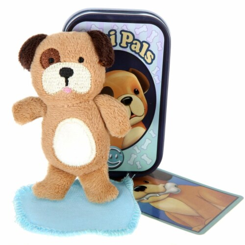 Giftable World T02-SPOT Mini Pals Dog Tin Perspective: front
