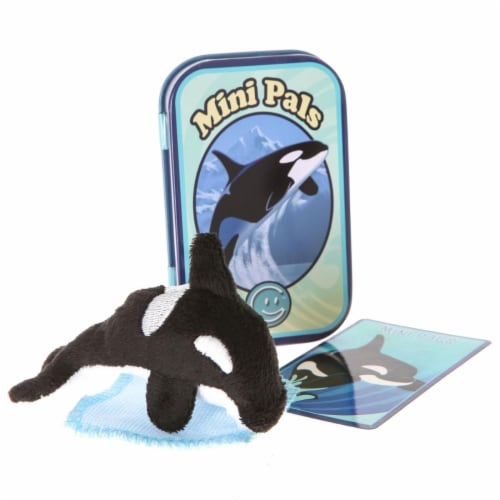 Giftable World T07-ORKY Mini Pals Orca Tin Perspective: front