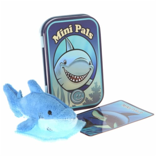 Giftable World T08-SNAPPER Mini Pals Shark Tin Perspective: front