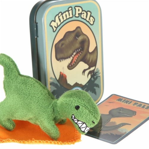 Giftable World T11-TEX Mini Pals T-Rex Tin Perspective: front