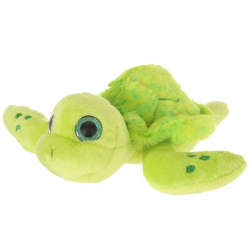 Giftable World A15103 8.5 in. Plush Tie Dye Sea Turtle Perspective: front